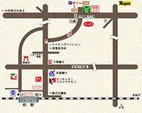 柏駅からの地図