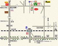 国道からの地図